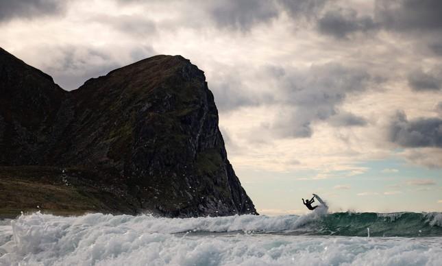 Gil Ferreira competindo no Lofoten Masters, na Noruega