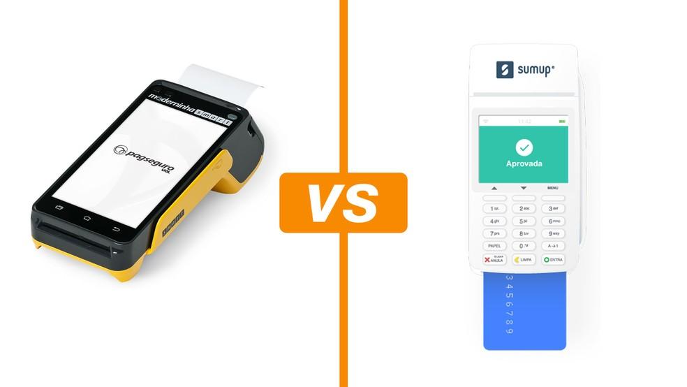 051839cb1 Moderninha Smart vs SumUp Total: compare taxas e bandeiras das ...
