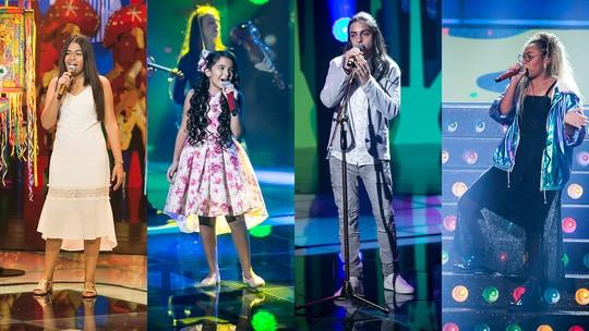 'The Voice Kids': Mudança no time de finalistas