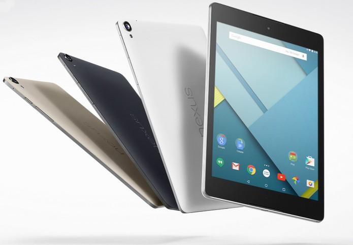 O Nexus 9 tem tela de 8,9 polegadas (Foto: Divulgação/ Google)