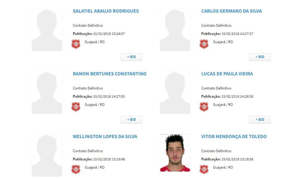 Jogadores do Guajará estão inscritos no BID  (Foto: Divulgação)