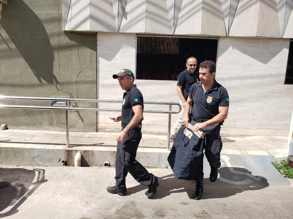 Polícia Federal cumpriu mandados em Picos.  — Foto: Paula Monize/Arquivo pessoal