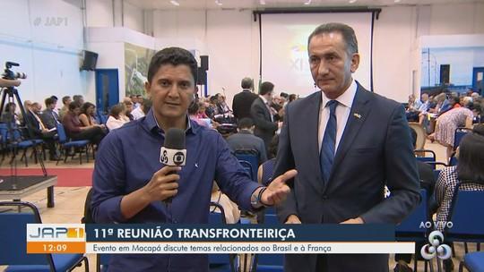 Brasil e França discutem acordos na fronteira para facilitar travessia da Ponte Binacional