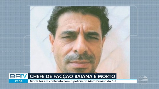 Assaltante de banco morto em ação policial no MS era a 'maior carta' do 'Baralho do Crime' da Bahia, diz SSP
