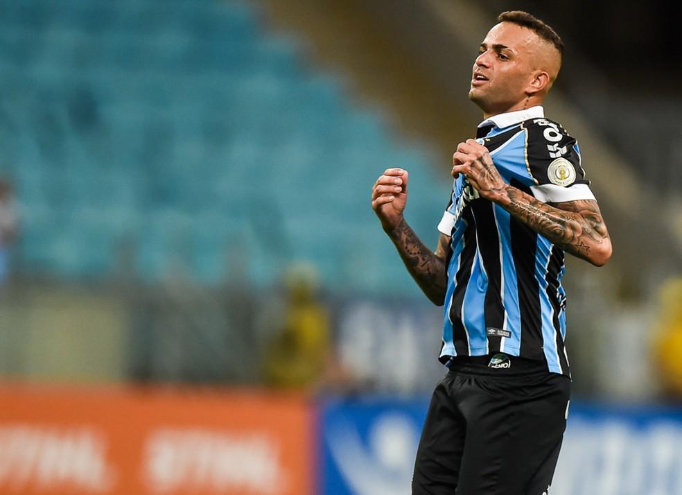 Luan deixa o Grêmio — Foto: Vinícius Costa/BP Filmes