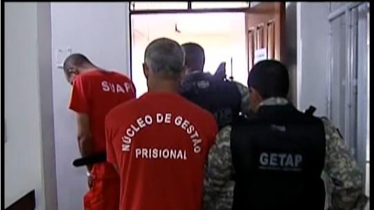 Polícia Civil  apresenta suspeitos de matar fazendeiro em Coluna, MG