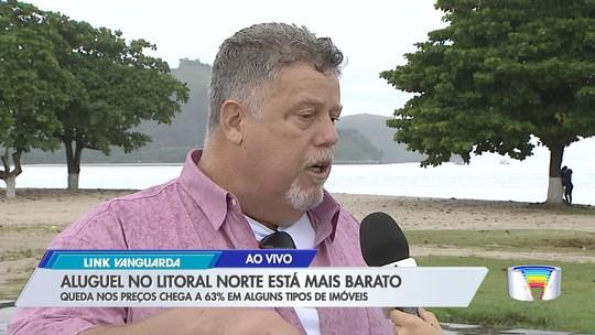 Preço do aluguel de casas para Páscoa recua até 62% no litoral norte de SP, diz Creci