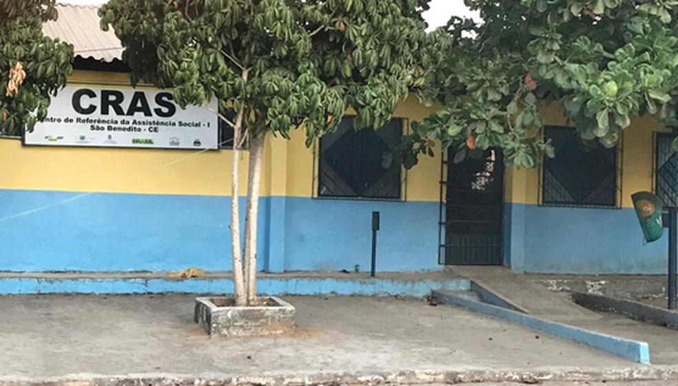 Cras do município de São Benedito — Foto: Divulgação/MPCE