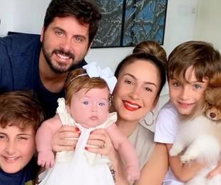 Claudia Leitte e a família | Reprodução