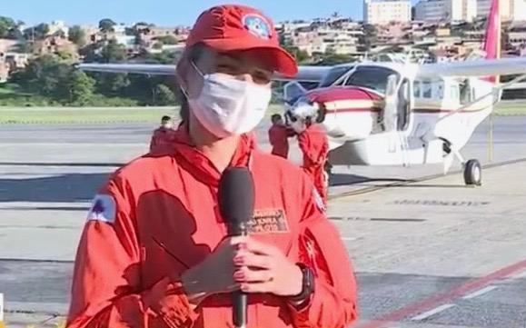 Piloto que atuou em resgate de vítimas em Brumadinho participa da distribuição de vacinas em MG