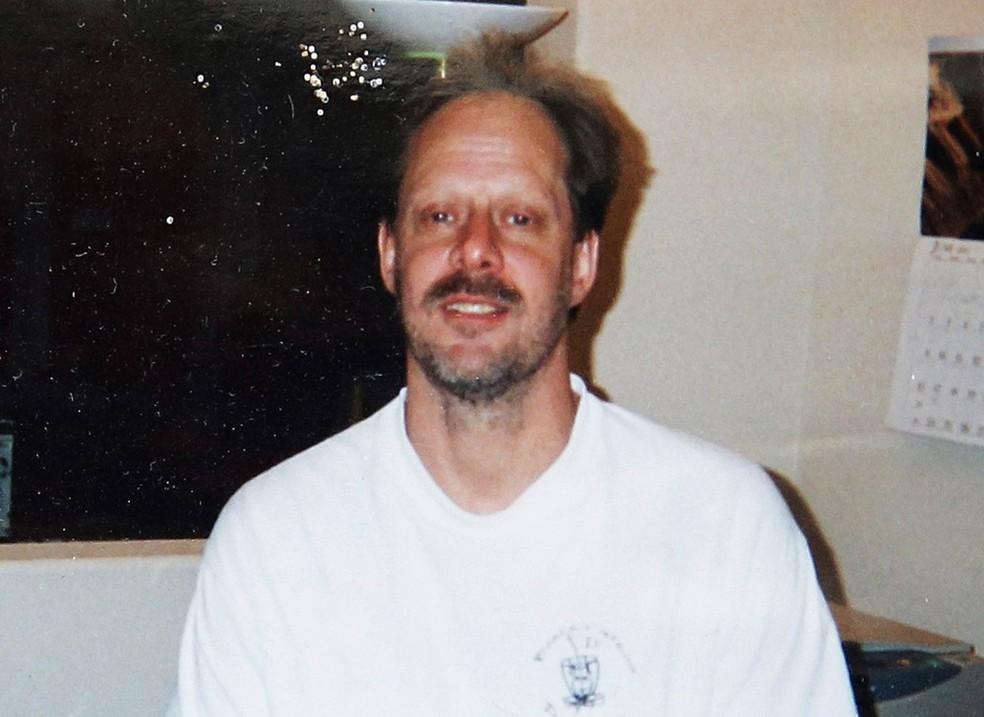 Stephen Paddock, o atirador do ataque em Las Vegas, em foto não datada do arquivo de seu irmão, Eric (Foto:  Arquivo pessoal/Eric Paddock via AP)