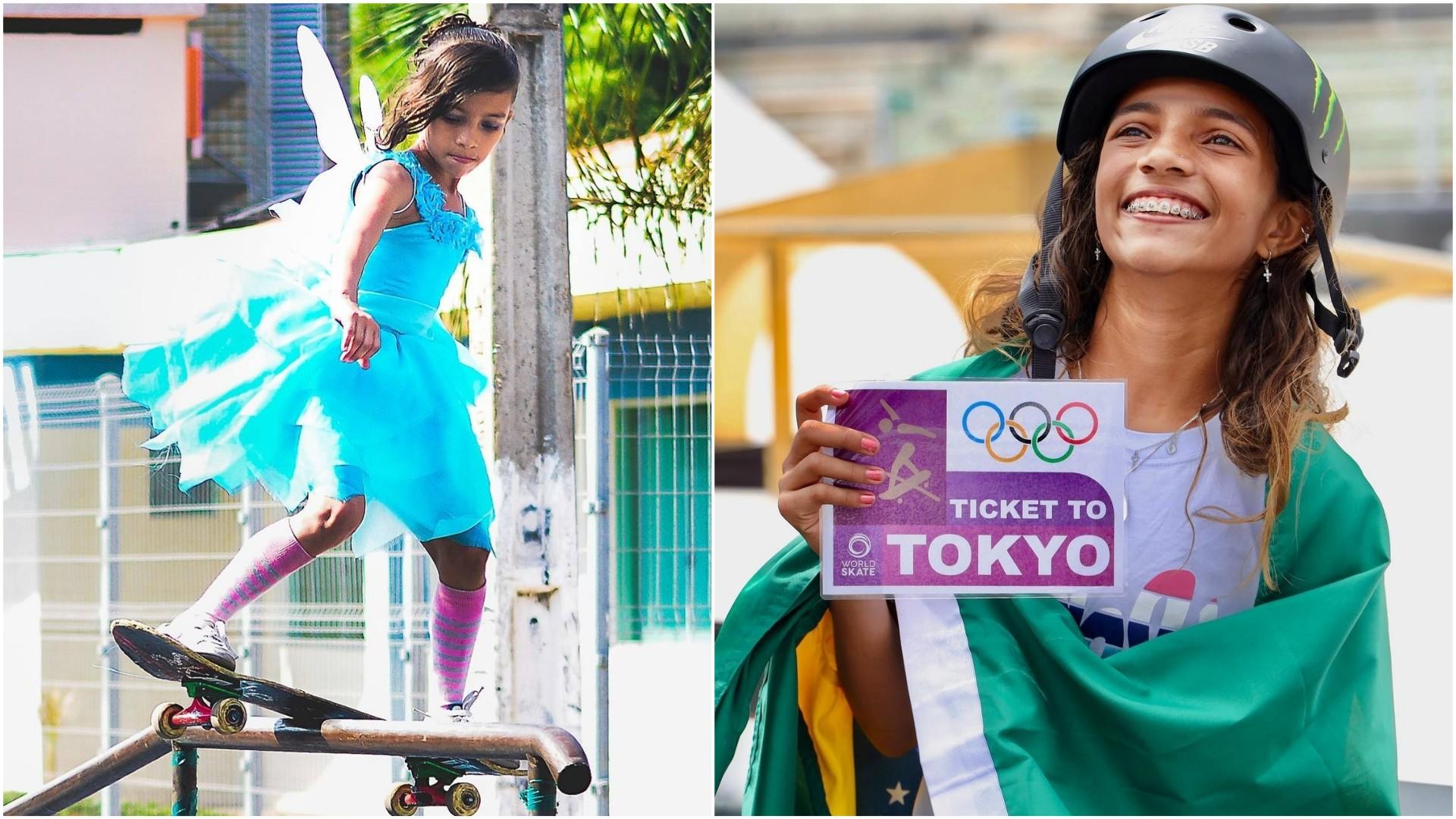 De fadinha às Olimpíadas: A trajetória de Rayssa Leal, a sensação brasileira no skate