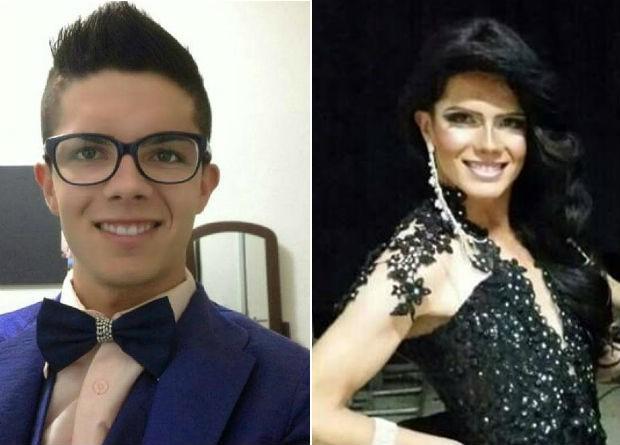 Miss Bragança Paulista Gay, Amanda Mendonza, de 24 anos (Foto: Divulgação)