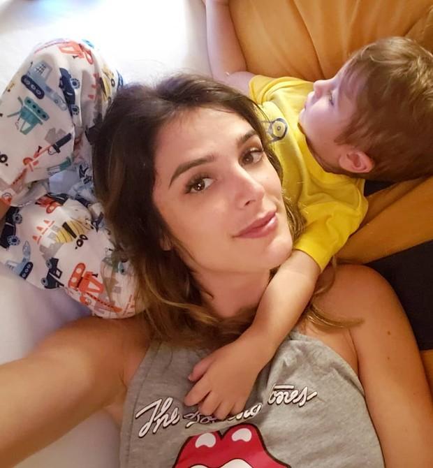 Rafa Brites com o filho Rocco (Foto: Reprodução/Instagram)
