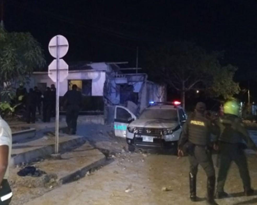 Explosão em delegacia deixa mortos e feridos em Barranquilla, na Colômbia