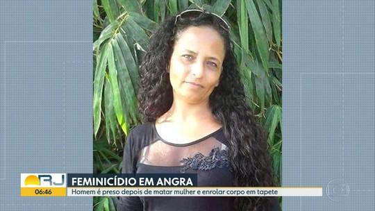Homem é preso depois de matar mulher e enrolar corpo em tapete, em Angra
