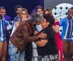 Otaviano Costa beija Dulce no palco do 'Amor & sexo' | Artur Meninea/Gshow