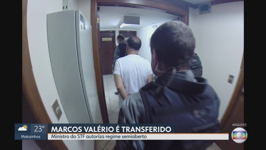 Marcos Valério é transferido para cumprir regime semiaberto