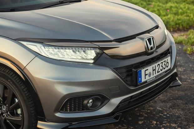 Farol full LED do Honda HR-V como os do Civic (Foto: Divulgação)