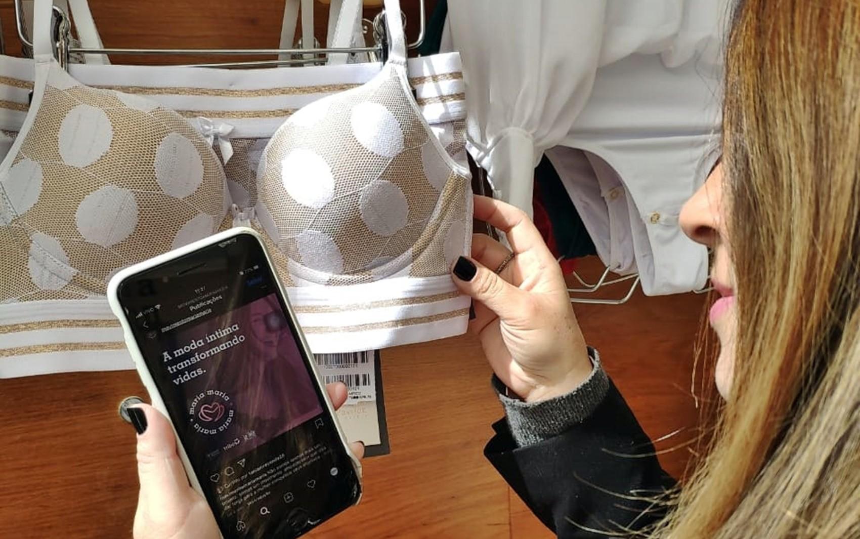 Projeto 'Maria, Maria' doa kits de revenda de lingerie para mulheres atingidas pela pandemia