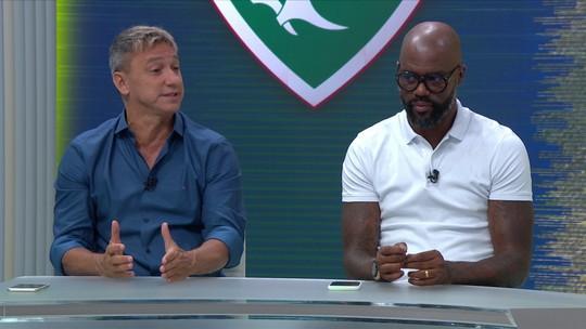 Em relação ao momento atual do Fluminense, Paulo Nunes lembra de quando trabalhou sem receber