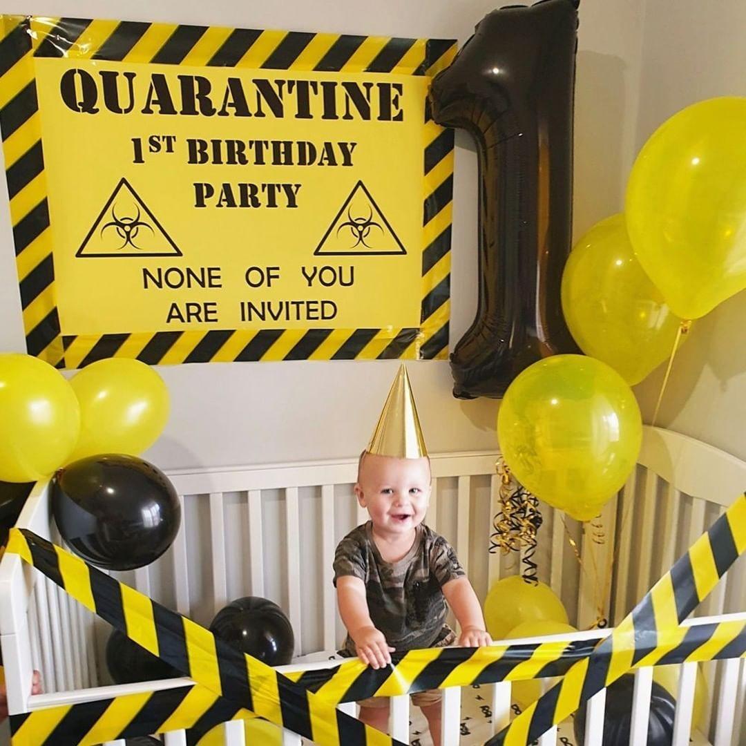 Festa de bebê em quarentena (Foto: reprodução/instagram)