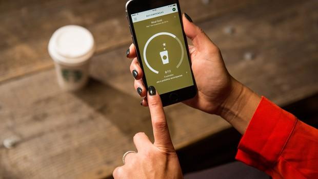 App do Starbucks é o mais utilizado no mundo inteiro para pagamento móvel (Foto: Divulgação)