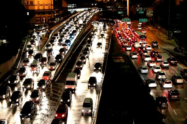 Congestionamento- São Paulo - Trânsito (Foto: Wikimedia Commons)