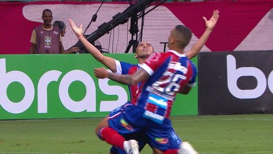 Os gols de Bahia 4 x 0 Londrina pela quarta fase da Copa do Brasil