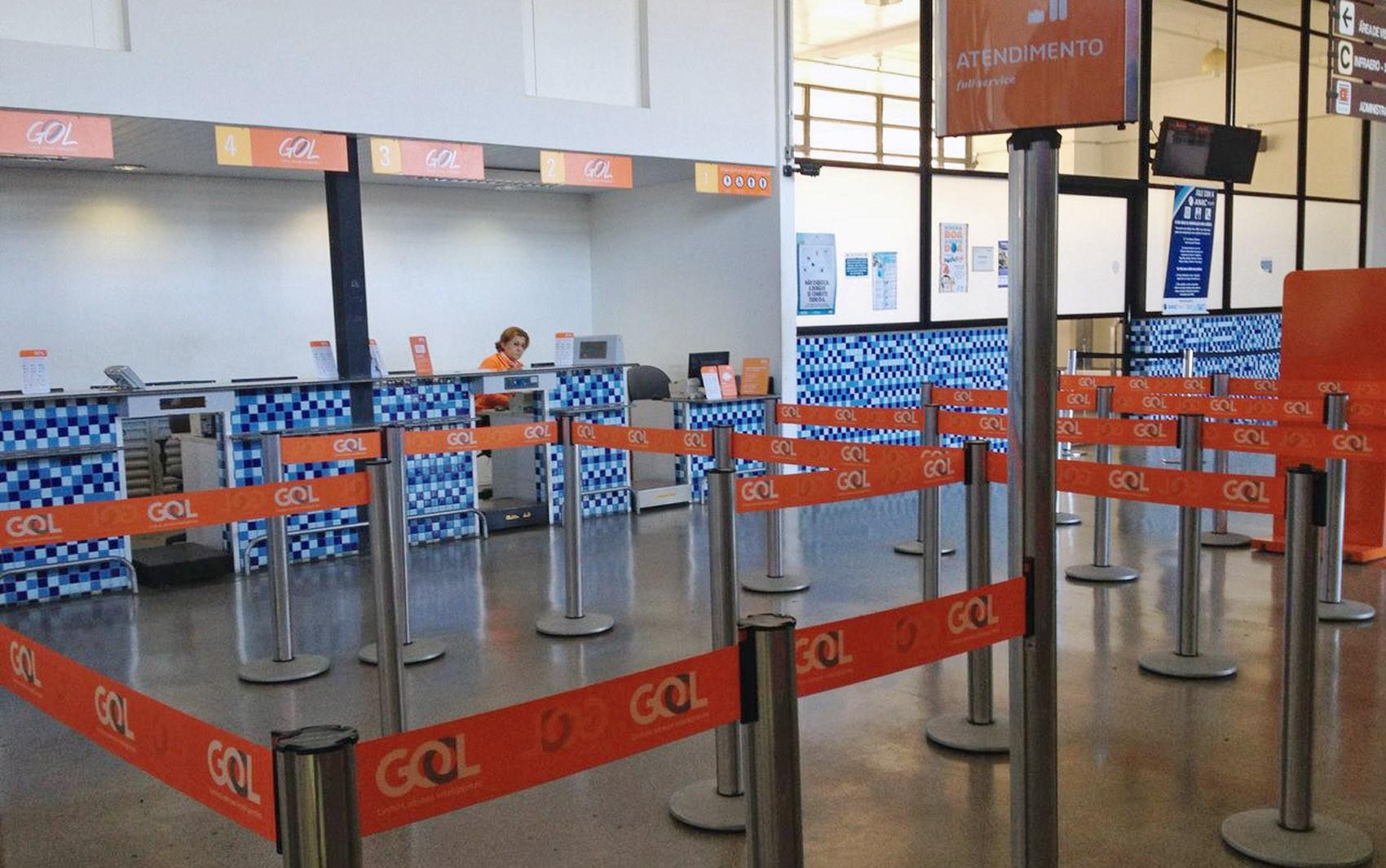 Pandemia de coronavírus faz Gol suspender operação de voos no Aeroporto Estadual de Presidente Prudente
