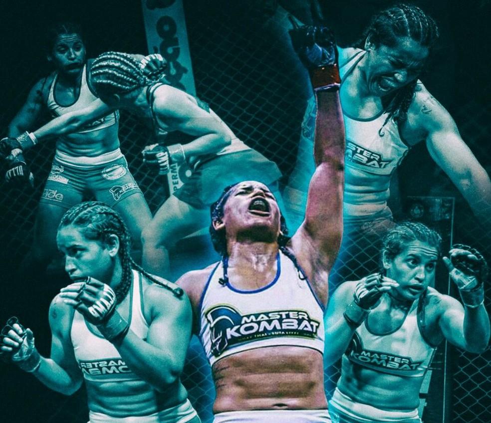 Mabelly Lima vai representar o Ceará em torneio de MMA na Argentina (Foto: Divulgação)