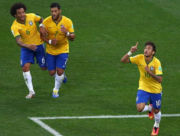 neymar brasil x croacia (Foto: Getty Images)