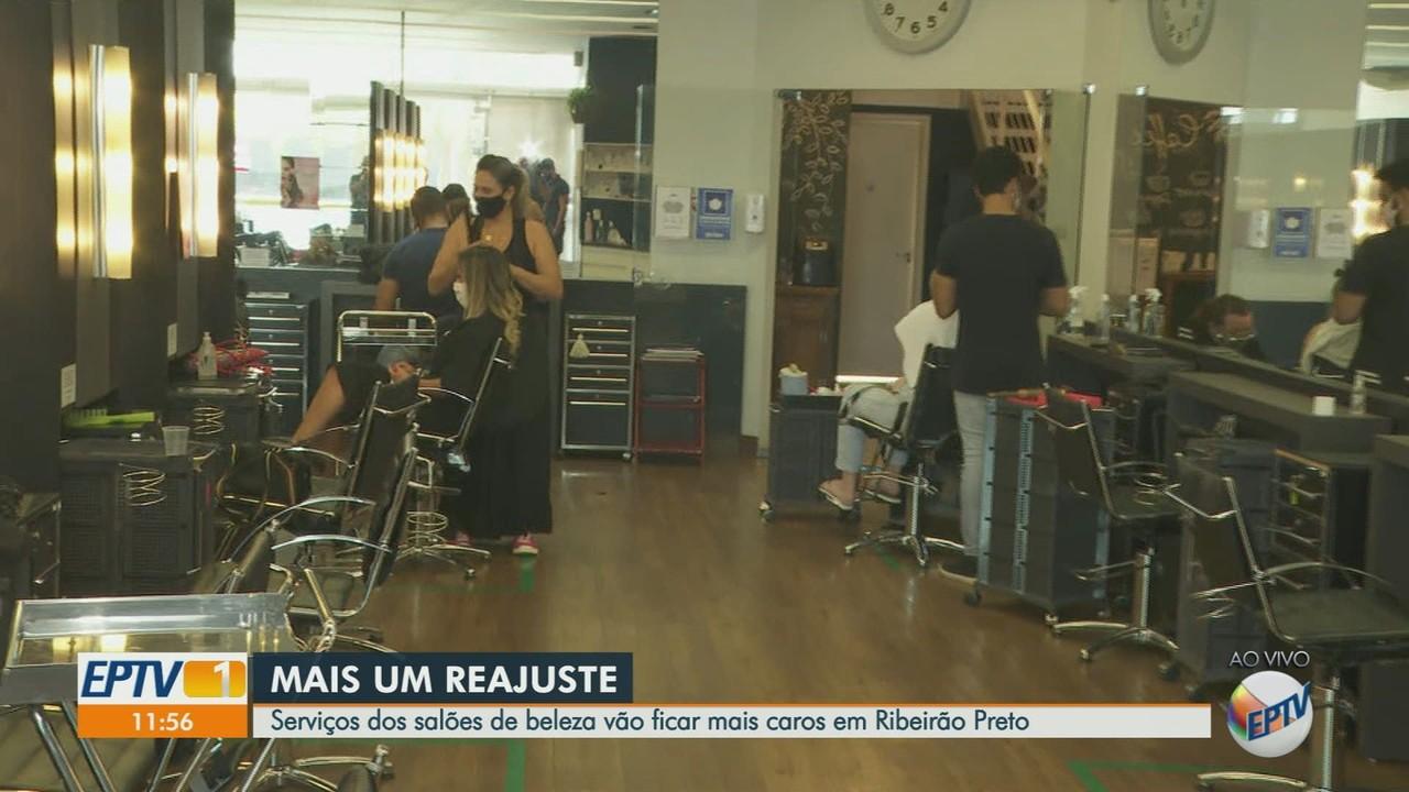 Serviço dos salões de beleza vai ficar mais caro em Ribeirão Preto, SP