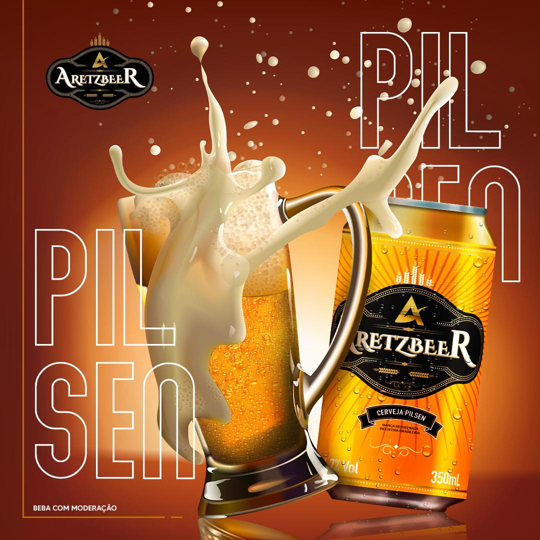 Conheça a cerveja Aretzbeer, inspirada na verdadeira cerveja alemã