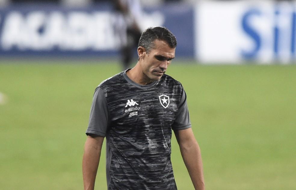 Bruno Lazaroni em sua passagem pelo Botafogo — Foto: André Durão/ge