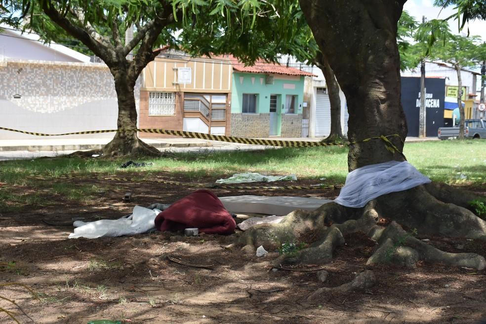 Caso aconteceu no bairro do Alto Maron, em Vitória da Conquista — Foto: Blog do Anderson