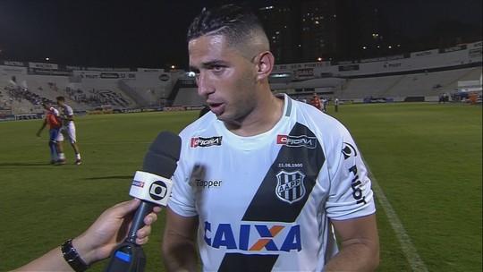 Danilo Barcelos comenta vitória da Ponte Preta sobre o São Bento