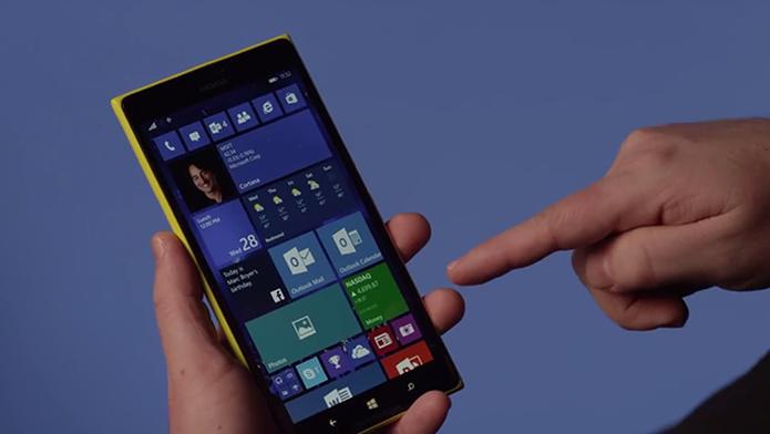 Windows 10 Mobile teve versão prévia lançada para primeiros aparelhos em fevereiro (Foto: Reprodução/Microsoft)