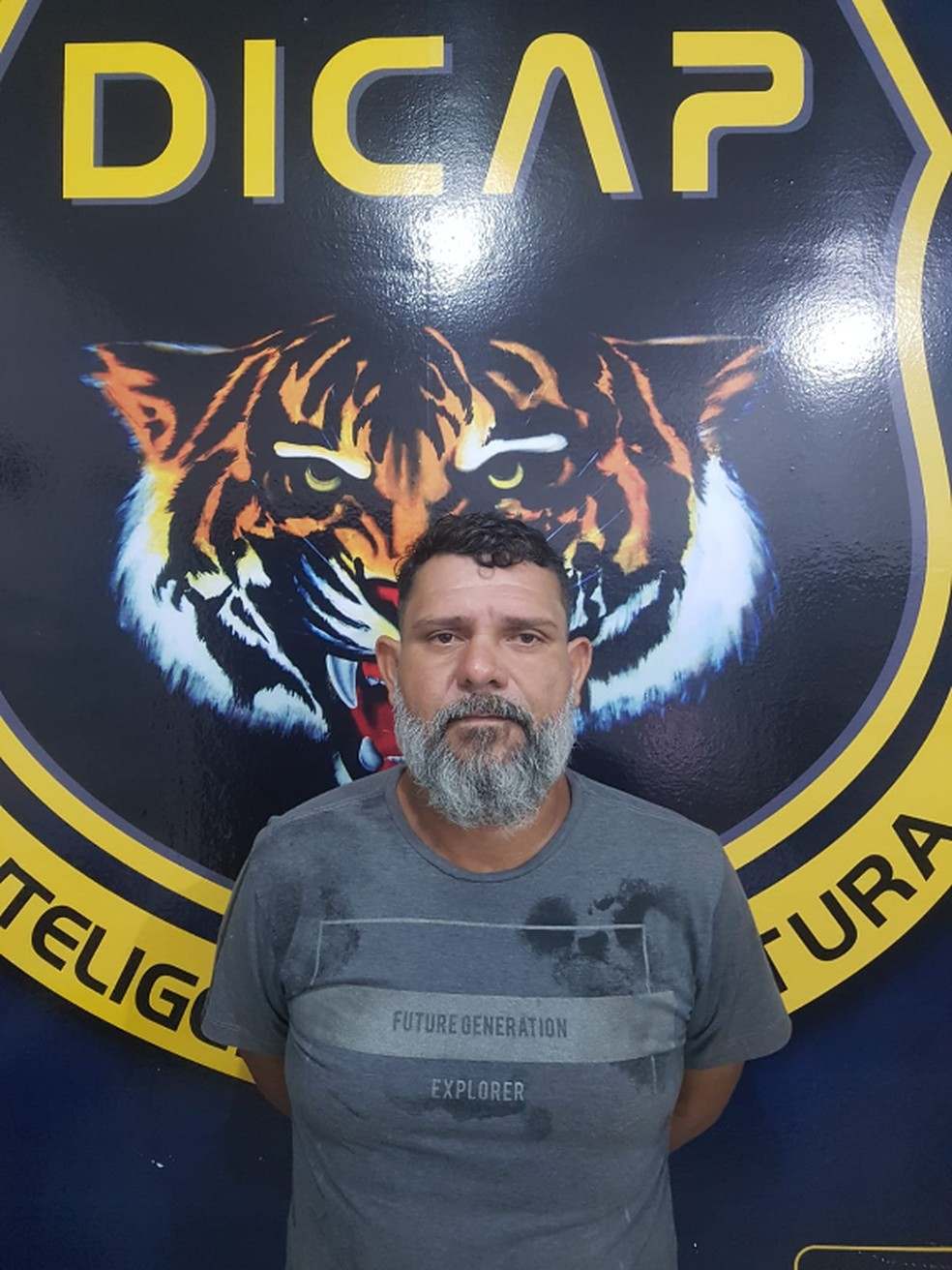 Rafael Gervásio estava foragido havia 5 anos do CPP — Foto: Divulgação/Dicap