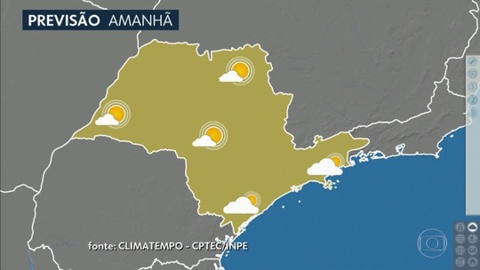 SP terá dia com névoa e calor nesta quarta-feira