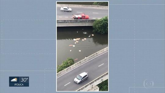 Vídeo flagra ocupante de caminhão jogando entulhos em manguezal na Zona Sul do Recife