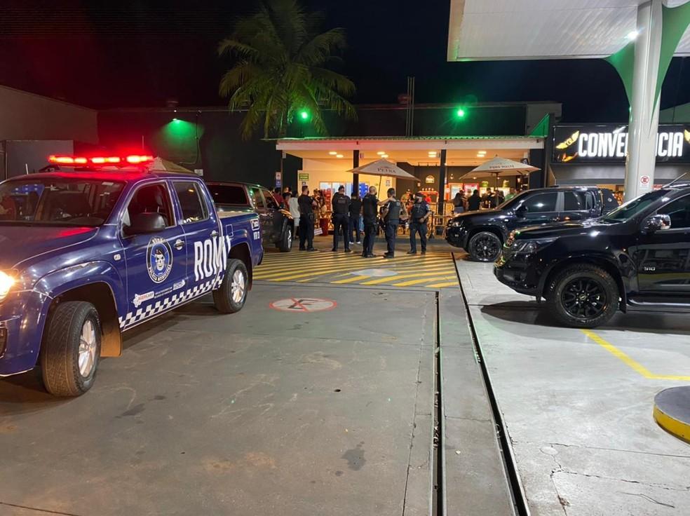 Guarda Municipal de Artur Nogueira (SP) realiza operação contra festas clandestinas e aglomerações— Foto: Guarda Municipal/Divulgação