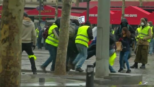 Fim de semana teve protestos na França, Hungria, Bélgica e Áustria
