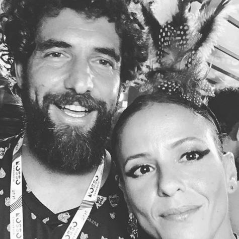 Fernanda de Freitas e o namorado, Simão Filippe (Foto: Reprodução)
