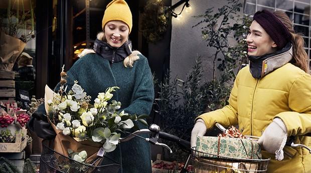 Anna Haupt e Terese Alstin, as criadoras da Hövding. (Foto: Divulgação)