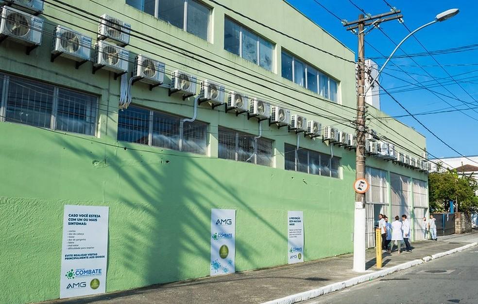 Crime aconteceu durante consulta no Centro de Controle de Coronavírus em São Vicente, SP — Foto: Divulgação/Prefeitura de São Vicente