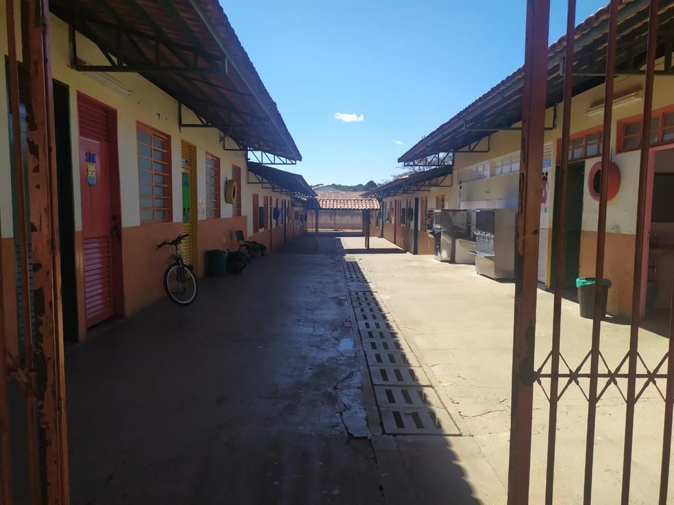 Escola Classe 05 do Paranoá, no DF — Foto: Arquivo pessoal