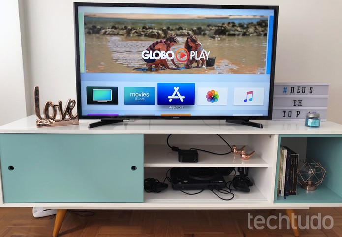 Globo Play na Apple TV 4K (Foto: Anna Kellen Bull/TechTudo)