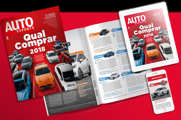 Revista Autoesporte de junho: Qual Comprar 2018 (Foto: Autoesporte)