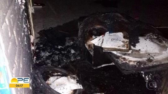 Incêndio atinge escola estadual na Zona da Mata Norte de Pernambuco